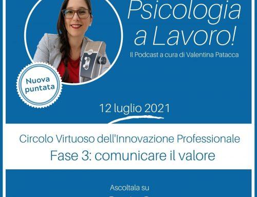 Circolo Virtuoso dell'Innovazione Professionale – fase 3: comunicare il valore